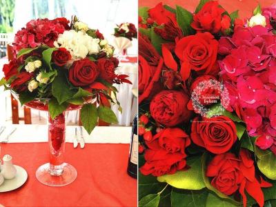 Рози маргаритки, золотой букет орел официальный